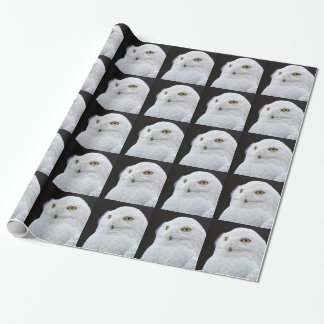 White Owl Wrapping Paper