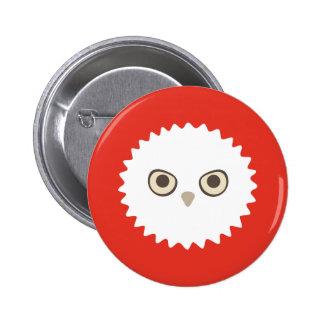 White Owl Zoi Buttons