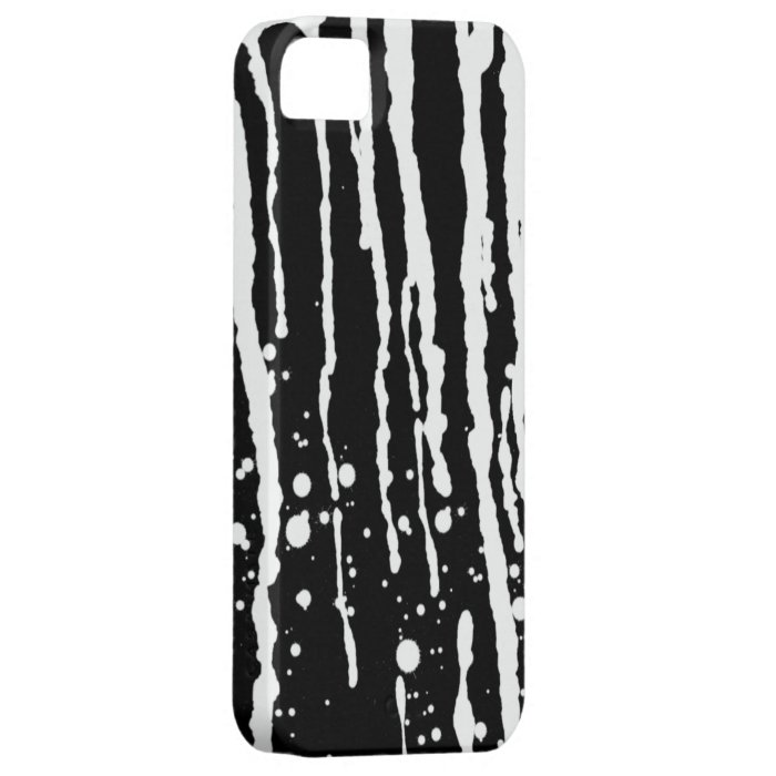 White Paint Drips iPhone SE/5/5s Case