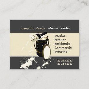 Home improvement business cards templates zazzle white painters painting services home improvement business card colourmoves