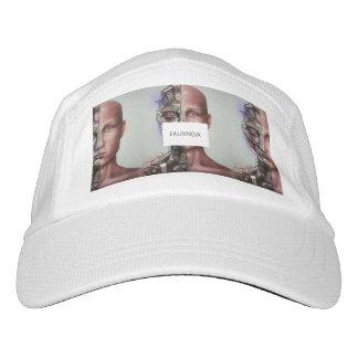 White Painting FAUXNDA Hat