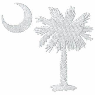 White Palmetto Embroidered T-Shirt