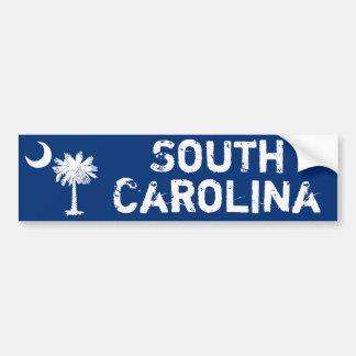 White Palmetto South Carolina Bumper Sticker