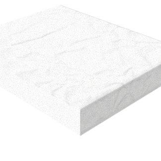 WHITE paper crease creased texture crumple crumple Canvas Print
