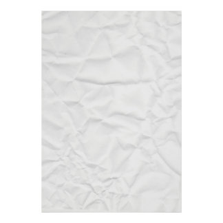 WHITE paper crease creased texture crumple crumple Poster
