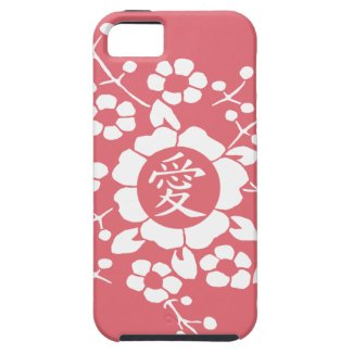 White Paper Cut Flowers • Love • Any Color iPhone 5 Covers
