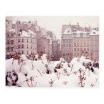 White Paris Tarjeta Postal