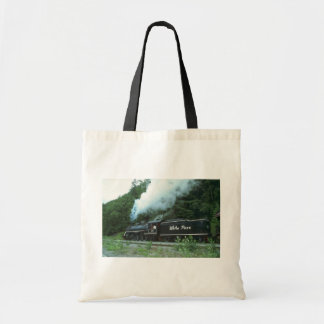 White Pass and Yukon in White Pass out of Skagway, Tote Bag