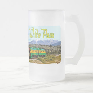 White Pass Frosted Glass Mug