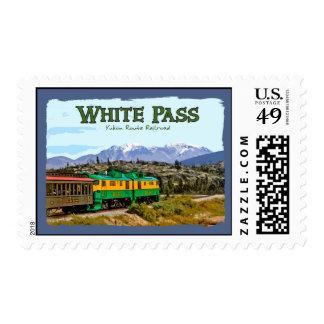 White Pass Postage Stamp