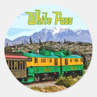 White Pass Sticker