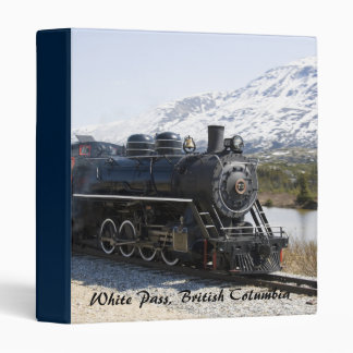 White Pass Train in Snow Binder