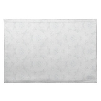 White Patterned Placemat
