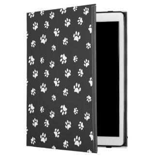 White Paw Prints Pattern iPad Pro Case