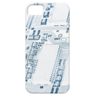 white pcb layout iPhone SE/5/5s case