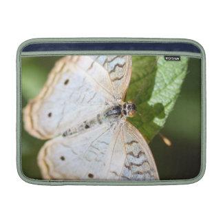 White Peacock Anartia Jatrophae MacBook Sleeves