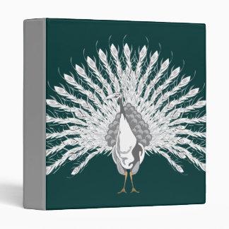 White Peacock Binder