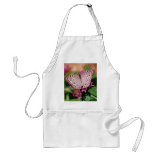 White Peacock Butterfly Adult Apron