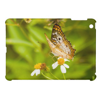White Peacock Butterfly Case For The iPad Mini