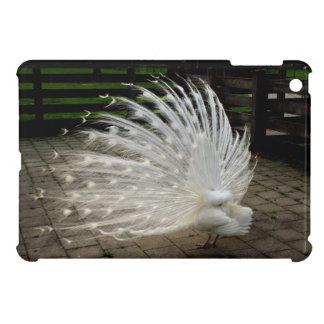 White Peacock Case For The iPad Mini