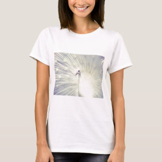 White Peacock Fine Art Photography T-Shirt