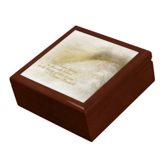 White Peacock Gift Box