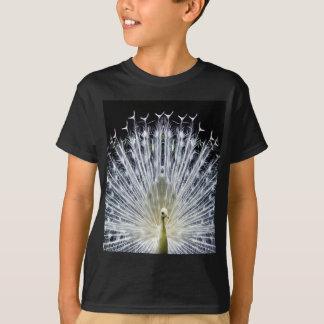 White Peacock Pavo Animalia T-Shirt