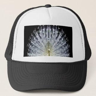 White Peacock Pavo Animalia Trucker Hat