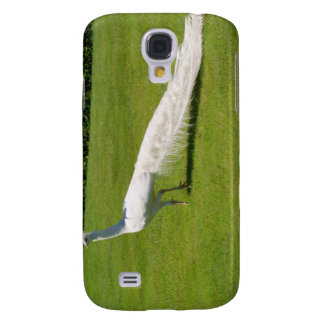 White Peacock Samsung S4 Case