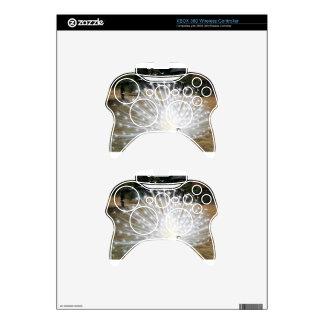 White Peacock Xbox 360 Controller Skins
