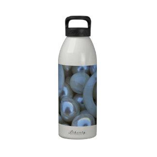 white pearls drinking bottles