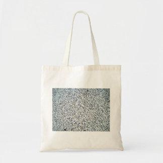 White Pebble Stones Texture Bags