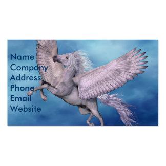 White Pegasus Business Card Business Card