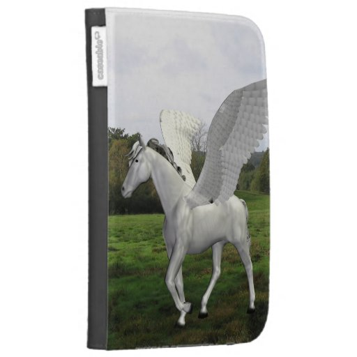 White Pegasus in a Field Kindle 3G Covers