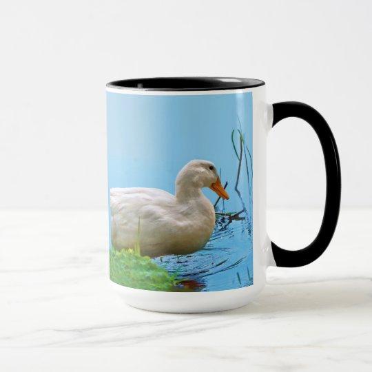 White Pekin Duck Mug