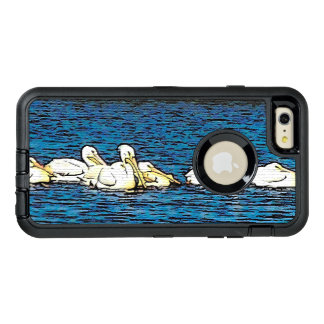 White Pelican Birds Wildlife Animals Case