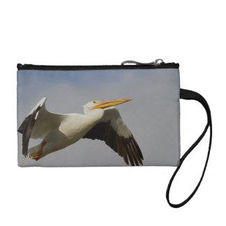 White Pelican Departure Change Purse