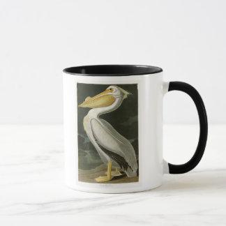 White Pelican John James Audubon Birds of America Mug