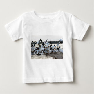 White Pelicans Baby T-Shirt