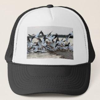 White Pelicans Trucker Hat