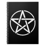 White Pentacle Notebook