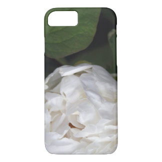 White Peony Floral Photography Iphone case 2