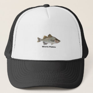 White Perch Trucker Hat