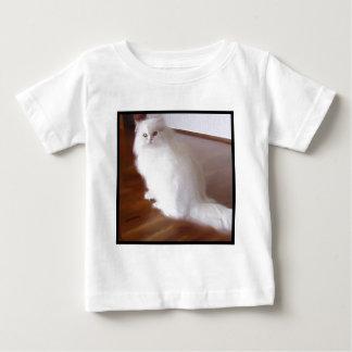 White Persian Cat baby shirt