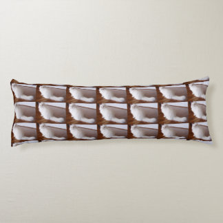 White Persian cat Body Pillow