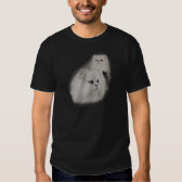 White Persian Cat School Photo T-Shirt
