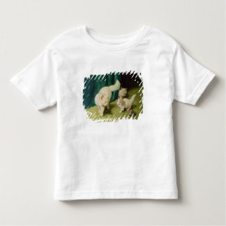 White Persian Cat with Two Kittens Toddler T-shirt