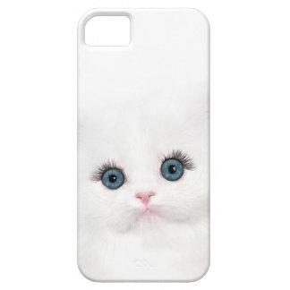 White persian kitten face iPhone SE/5/5s case