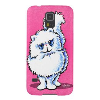 White Persian Portriat Off-Leash Art™ Galaxy Nexus Cover