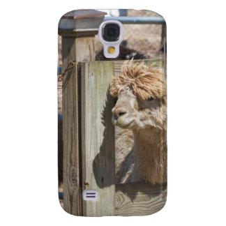 White Peruvian Alpaca - Vicugna pacos Samsung Galaxy S4 Case
